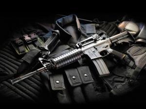 m16_assault_rifle_with_bullet_proof_vest_hd_gun_wallpaper-800x600